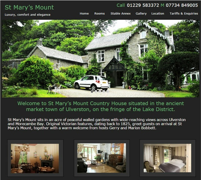 st-marys-mount-website-design